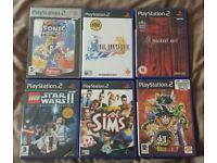 Playstation 2 Game Bundle [PS2], Resident Evil Dragon Ball Z Sonic Final Fantasy