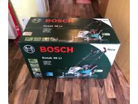Bosch Rotak 36li lawnmower brand new