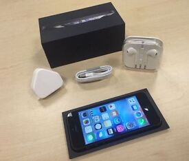 Boxed Black Apple iPhone 5 64GB Factory Unlocked Mobile Phone + Warranty