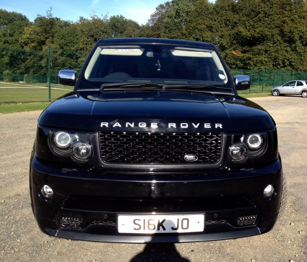 2012 range rover sport autobiography conversion red - Range rover with red leather interior ...