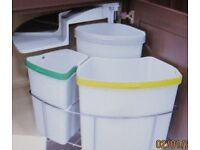 Storage Bins for your kitchen waste new an still boxed