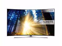 65'' SAMSUNG CURVED 4K SUHD 3D QUANTUM DOT TEC.EPIC MODEL UE65KS9500. EPIC BEST TV.FREE DELIVERY