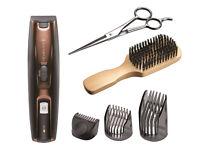 REMINGTON Beard/Facial Hair Trimmer Kit (MB4045) - NEW - BOXED - MENS - GIFT
