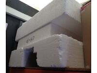 Large polystyrene blocks and pieces for free
