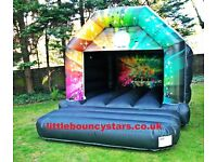 Little Bouncy Stars, Bouncy castle hire, Disco Bouncy Castle hire, bouncy castles in London