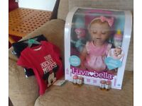 New Luvabella Blonde Doll and Accessories