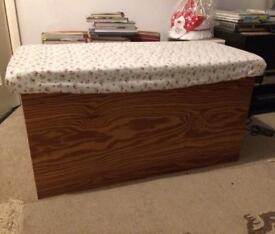 Solid Wood Chest (for toys blankets etc)