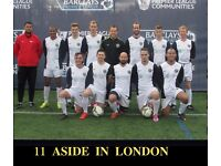 JOIN FOOTBALL TEAM IN LONDON, FIND FOOTBALL IN SOUTH LONDON, 11 ASIDE FOOTBALL TEAM IN LONDON
