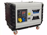 Jefferson 6.3kva/5.0kw Super Silent Diesel Generator