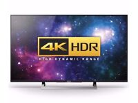 Sony 49 Inch 4K HDR LED Android Smart TV with Youview & Dual Freesat HD