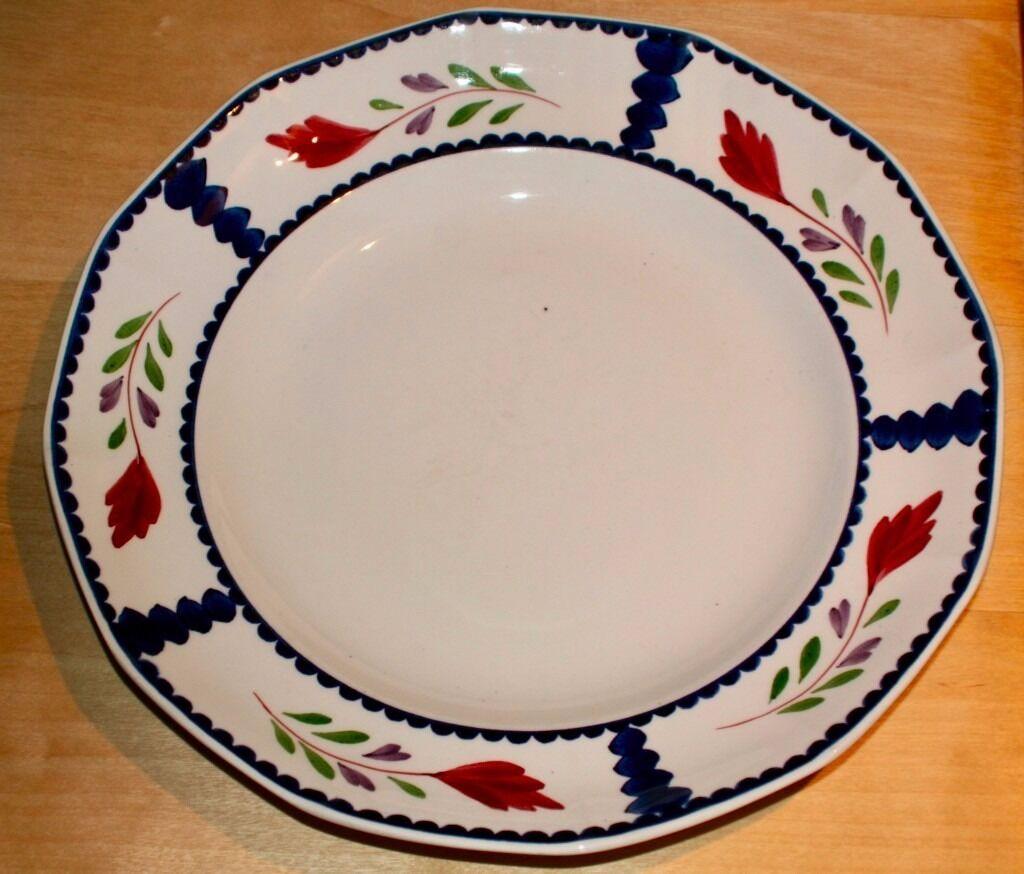Adams Lancaster English Ironstone Dinner Plates In Ross On