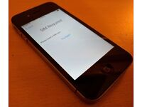 Apple Iphone 4S Black 16GB EE Network - Very Good Condition