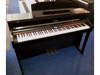 Pre-Owned Roland HP605 Digital Piano Polished Ebony Cabinet