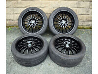 """19"""" BMW X3 Alloy wheels and tyres 5x120"""