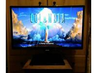 """Samsung 24"""" FULL HD 1080P LED TV/ Monitor + FREEVIEW"""