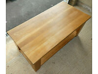 Solid Oak coffee table / side table