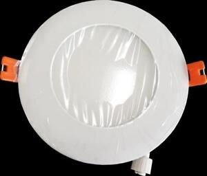 "SALE!! 4"" PREM LED 9W Slim Panel/Pot Light IC RATED cETL•ES WET/DAMP LOCATION RATED-8 YEAR WARRANTY•40% OFF"