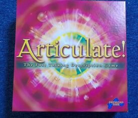 Articulate! As good as new.