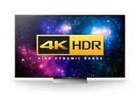 SONY KD55XD9305BU 55 Inch Smart 3D LED Ultra HD 4K Android TV with 4K HDR Built-in WiFi, Freeview HD