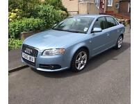 Audi A4 2.0 TDI S line 140Bhp 2005 6 speed Manual