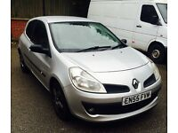 Renault Clio Expression, 2006, 1.2. Moted 97k faultless car