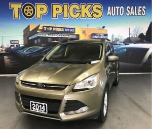 2014 Ford Escape SE, AWD, NAVIGATION, ALLOY WHEELS & MORE!
