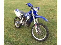 YAMAHA WR450f green lane / enduro bike