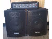 Pulse PMH 200 kit. Passive Speakers.
