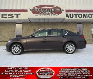 2013 Lexus GS 350 AWD, ROOF, NAV, HEATED AND COOLED LEATHER!