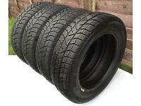 155/65 R14 Winter Tyres 4 X PIRELLI Snow Control Series 3 75 T - Very Good Condition