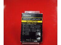 Roland SN-U110-10 Rock Drums Sound Library PCM Data ROM £50