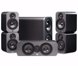 Q Acoustics 3000 5.1 Cinema Pack Graphite Matte