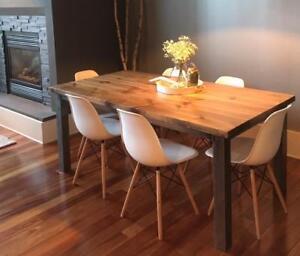 Table de cuisine DIRECTEMENT DE L'ARTISAN !