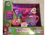 Leap Frog Rainbow musical tea party set