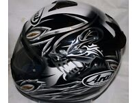 New ARAI Wraith Chaser Helmet size Small 55 - 56cm, Pinlock fitted