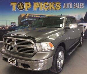 2013 Ram 1500 BIG HORN, CREW CAB, 4X4, 20'S , LOW MILEAGE!