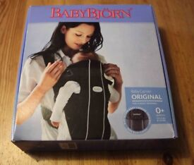 Baby Bjorn Original Carrier Sling (front facing) - Excellent Condition - Original Box