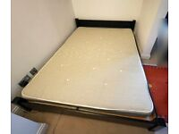 King Size Warren Evans Bed and Mattress – Low level bed frame