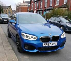 2017 67 BMW 116D M Sport Auto Facelift [NAVIGATION PACK] Only done 600 miles!!