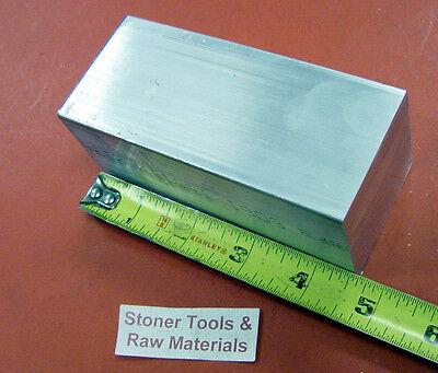 2 X 2 Aluminum Square 6061 Flat Bar 4.5 Long T6511 Solid New Mill Stock