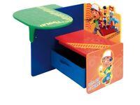 Childrens handy manny storage seat *excellent condition