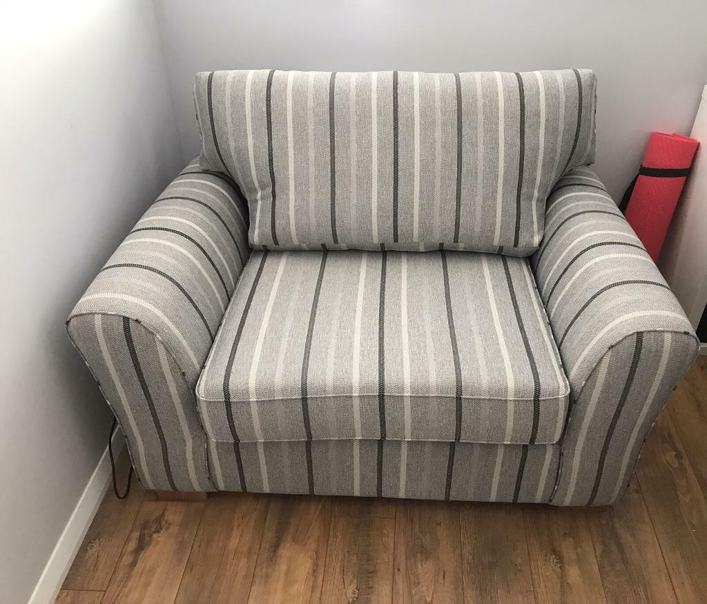Single sofa bed snuggle arm chair from next in norwich for Snuggle sofa