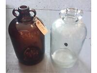 2 Old Bottles/Vases