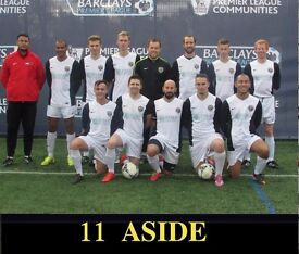 Join Football Team: Players wanted: 11 aside football. South West London Football Team. Ref: tre32