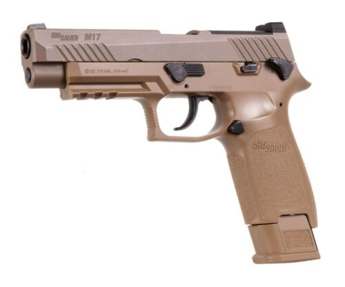 SIG Sauer M17 -.177 CO2Air Pistol - Heavy Hunk of Metal -FREE SHIP Lower 48 Only