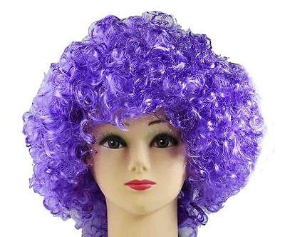 froperücke Farbe lila für Fasching , Karneval, Party (Lila Afro)