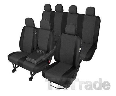 Sitzbezüge MERCEDES SPRINTER 7 Sitzer Sitzbezug Schonbezüge ARES DV1M2LTAB4