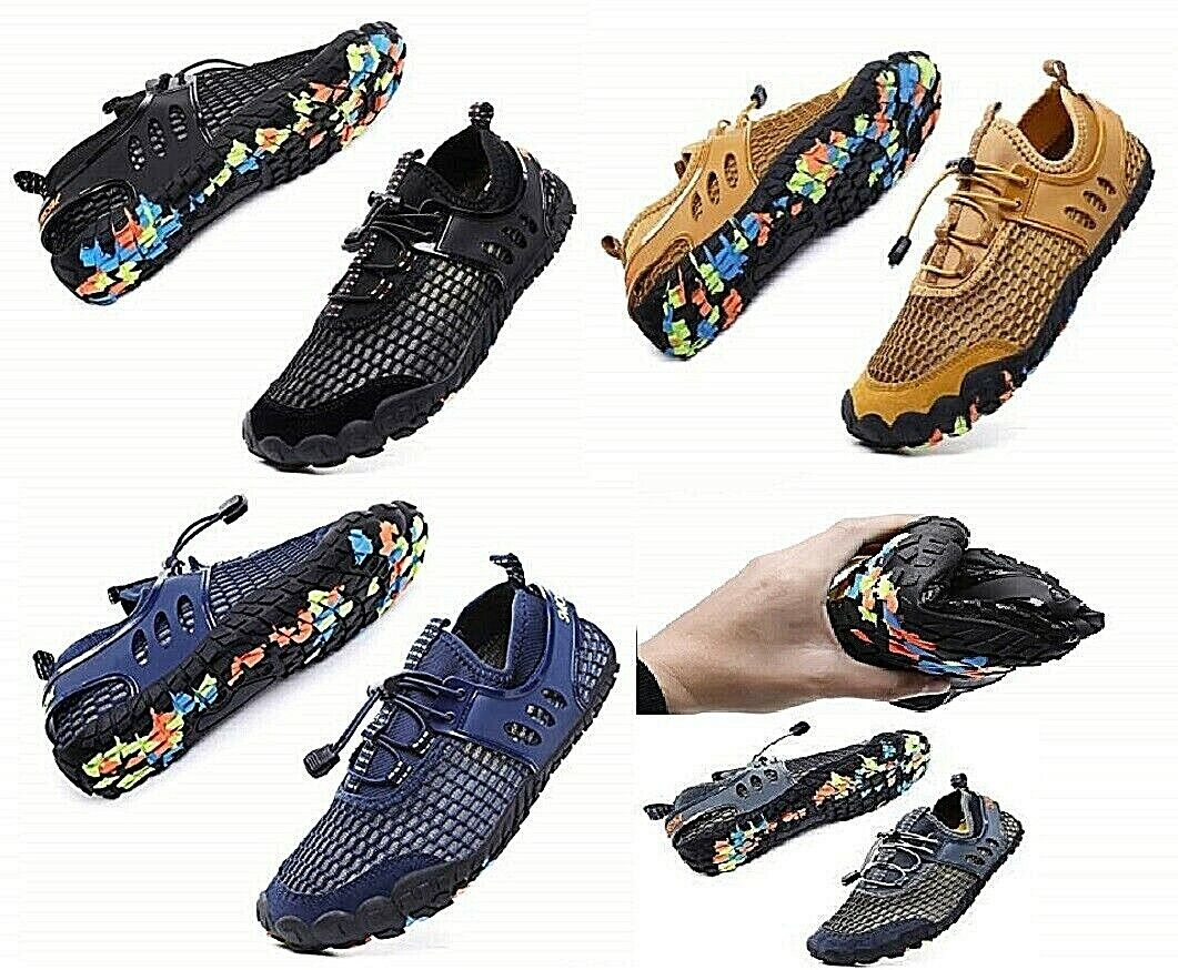 Water Shoes Unisex Non Slip Rubber Sole Breathable Hight Quality USA Seller NEW Fins, Footwear & Gloves