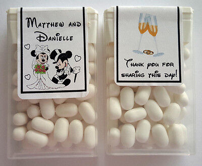 Disney Wedding Favors (28 DISNEY MICKEY AND MINNIE WEDDING FAVORS TIC TAC)