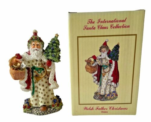 The International Santa Claus Collection 1998 Welsh Father Christmas Wales SC34